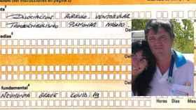 Certificado de defunción de Luis Pérez, en el que establece que ha muerto a causa de Covid-19.