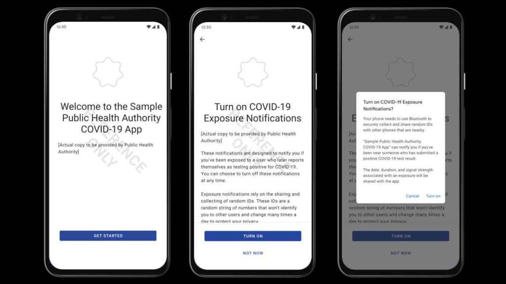 Así sería una app contra el COVID-19 para Android: nos pide activar Bluetooth
