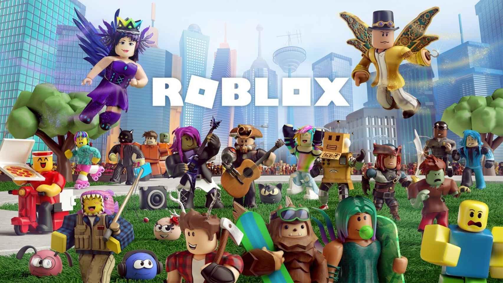 Una imagen del universo Roblox.