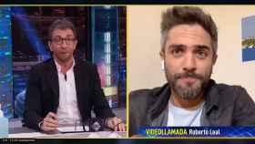 Roberto Leal, este lunes en 'El Hormiguero'.