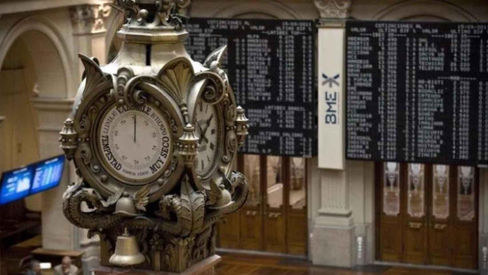 Bolsa de Madrid, en una imagen de archivo.