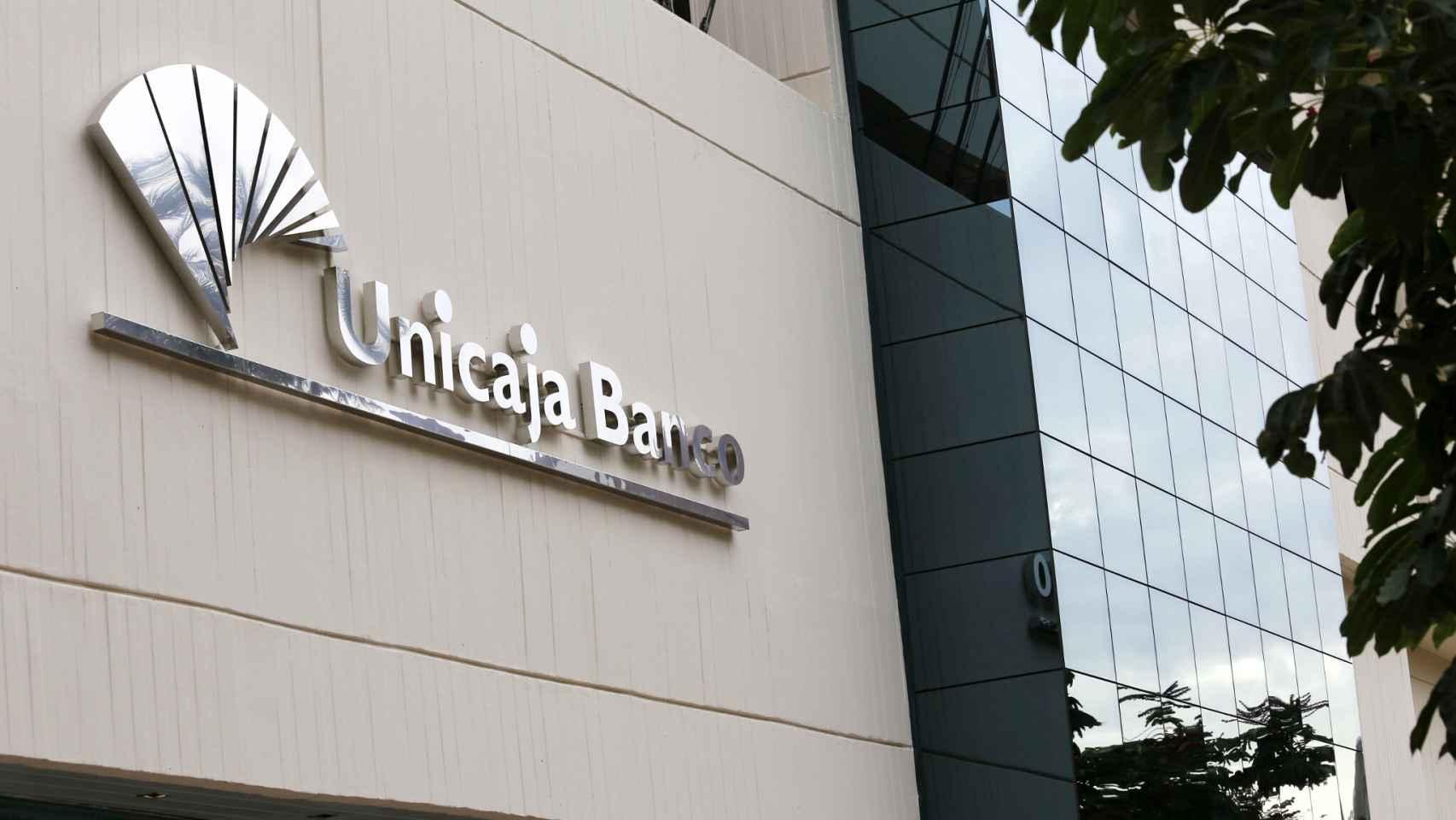 Sede de Unicaja Banco.