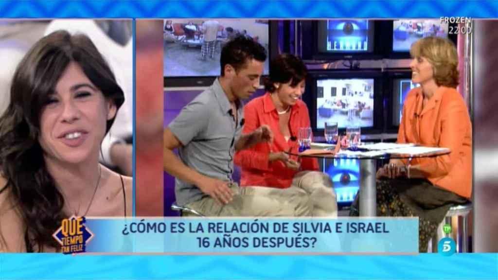 Silvia abandonó el concurso al conocer que Israel era el expulsado.