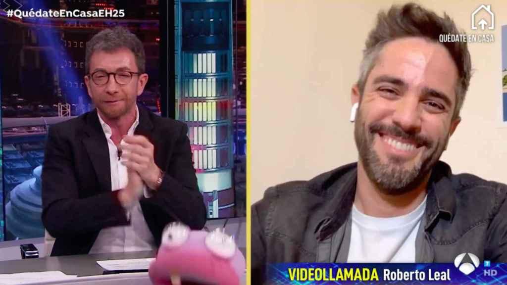 Pablo Motos y Roberto Leal.