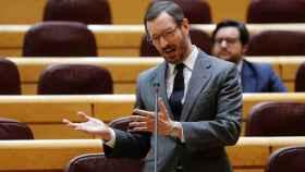 El portavoz del PP en el Senado, Javier Maroto, en imagen de archivo.