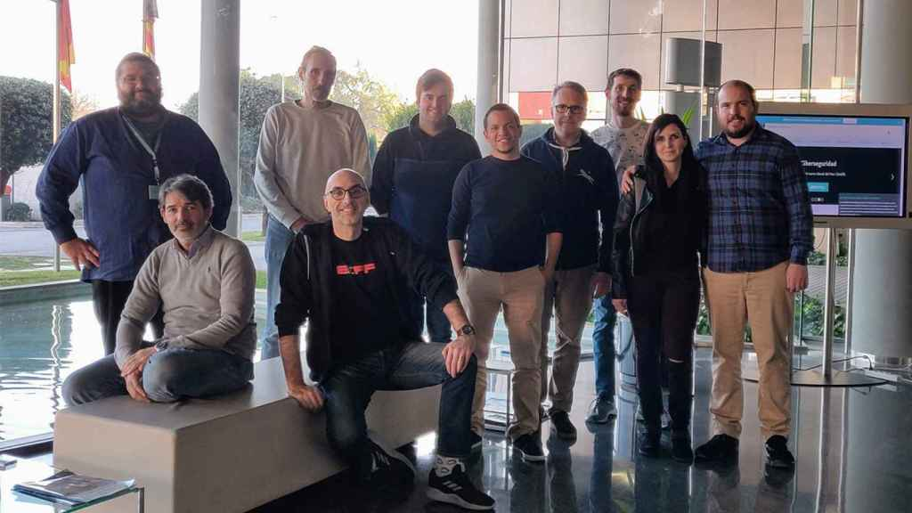 El equipo de Kanteron Systems, con sede en Valencia.