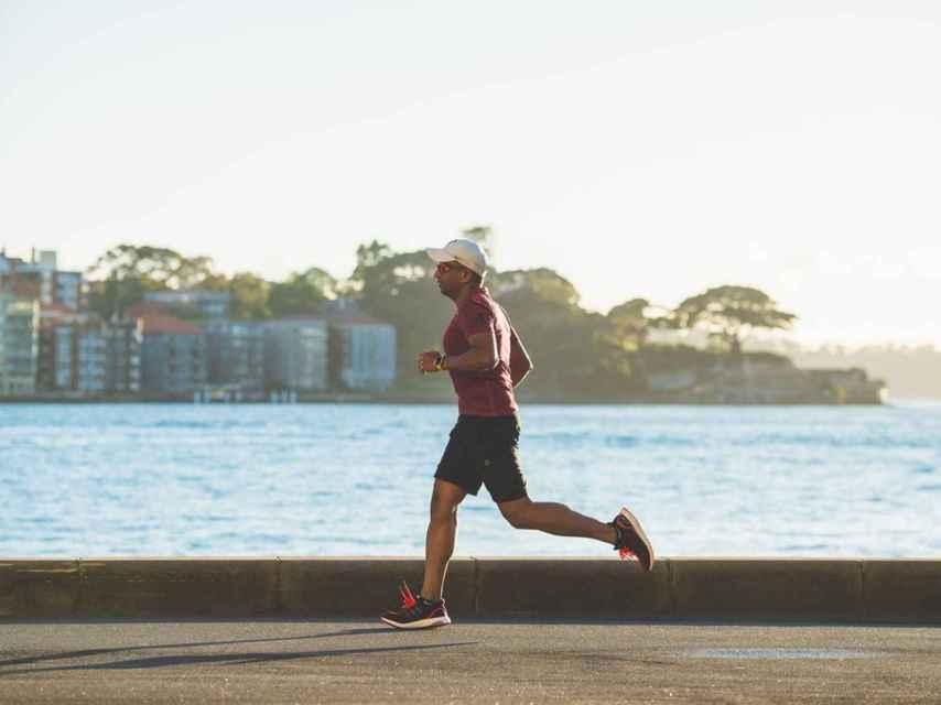 Hombre corriendo.