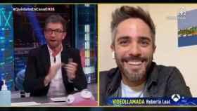 Motos y Leal conversando este lunes en 'El Hormiguero'