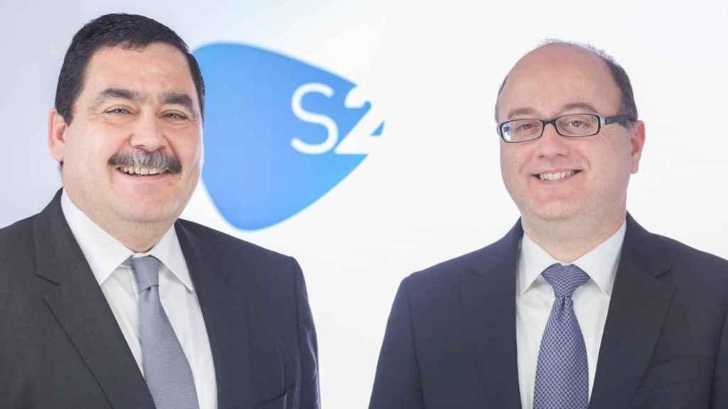 José Rosell (izquierda) y Miguel Juan, socios-directores de S2 Grupo.