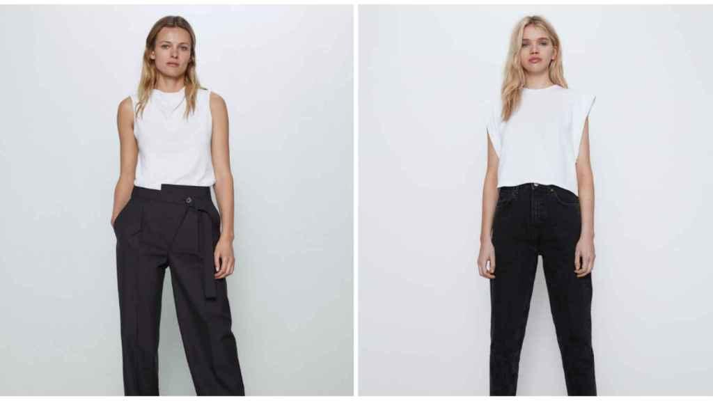 Zara pone a tu disposición una amplia gama de camisetas sin mangas.