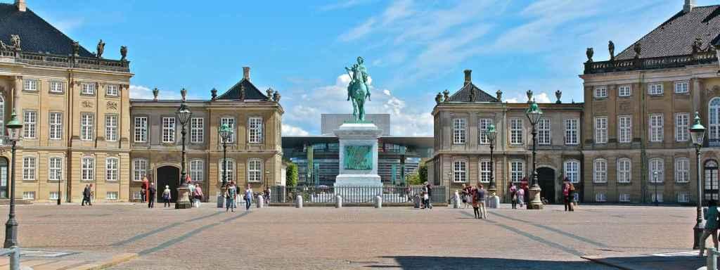 Plaza de Amelienborg.