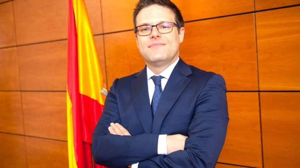 El director general saliente, Juan Espinosa García.