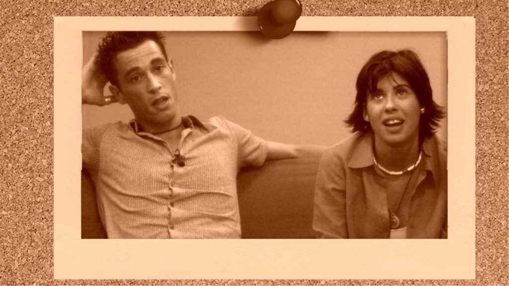 Israel Pita y Silvia Casado en montaje de JALEOS.
