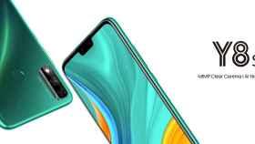 Nuevo Huawei Y8s: gran batería, notch clásico y servicios de Google