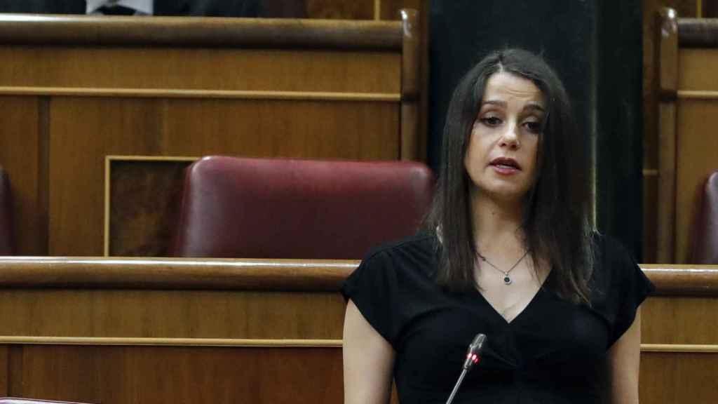 Inés Arrimadas, presidenta de Ciudadanos, defiende el 'sí' de los liberales al estado de alarma.