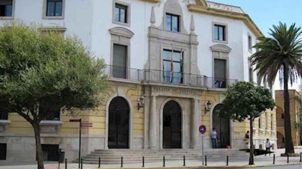 Imagen de la Audiencia Provincial de Cádiz.