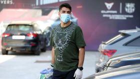 Luis Suárez, listo para pasar los test del Barcelona