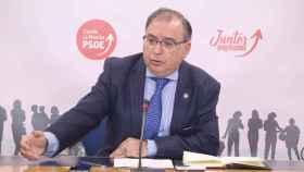 Fernando Mora, presidente del Grupo Parlamentario Socialista en las Cortes de Castilla-La Mancha