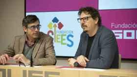 Eduardo Butragueño (i), director de la Fundación Soliss, y Andrés Martínez (d), presidente de CECAP. Imagen de archivo.