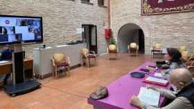 Reunión entre el Ayuntamiento de Toledo y los sindicatos