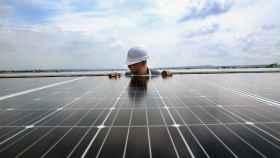 Planta fotovoltaica de Iberdrola en San Luis de Potosí (México).