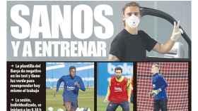 La portada del diario Mundo Deportivo (08/05/2020)