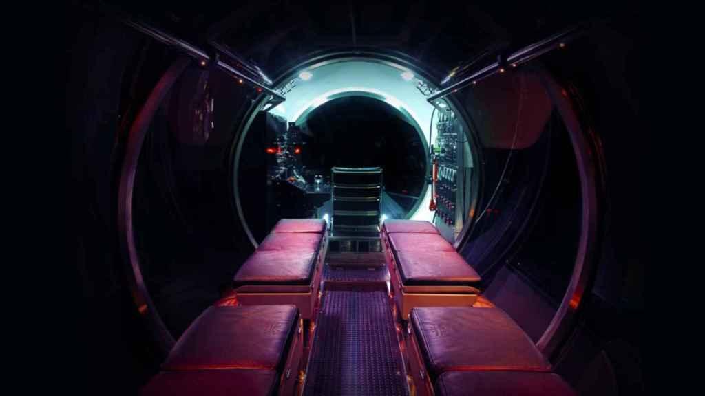 Interior del Triton DeepView