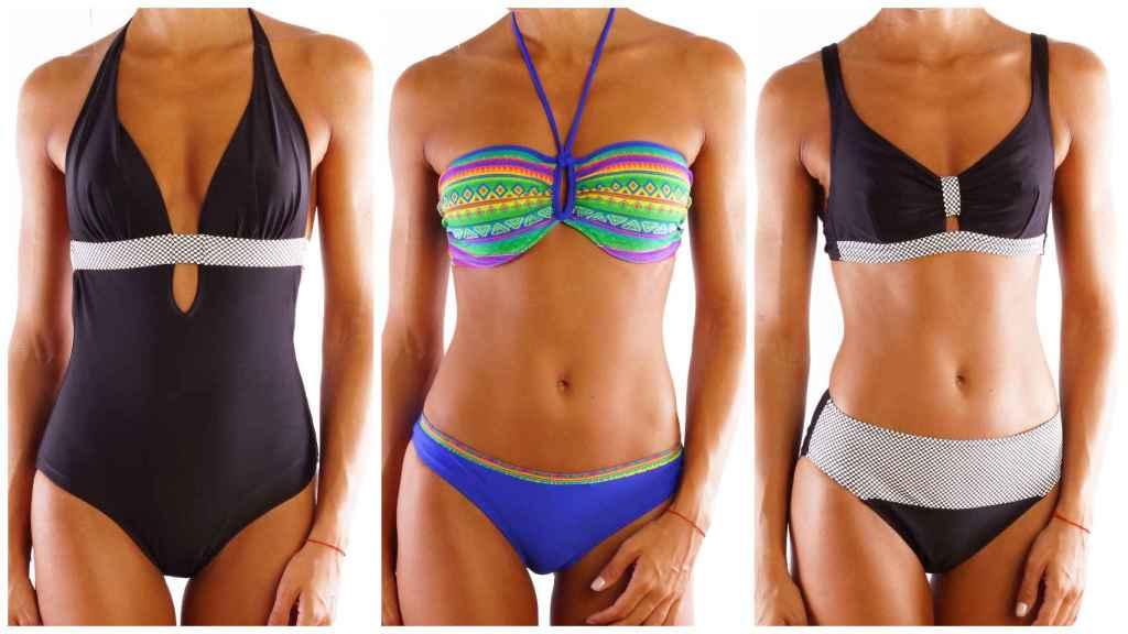 Bikinis y bañadores de la firma Venus.