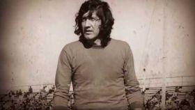 'El Trinche' Carlovich, durante su etapa como futbolista