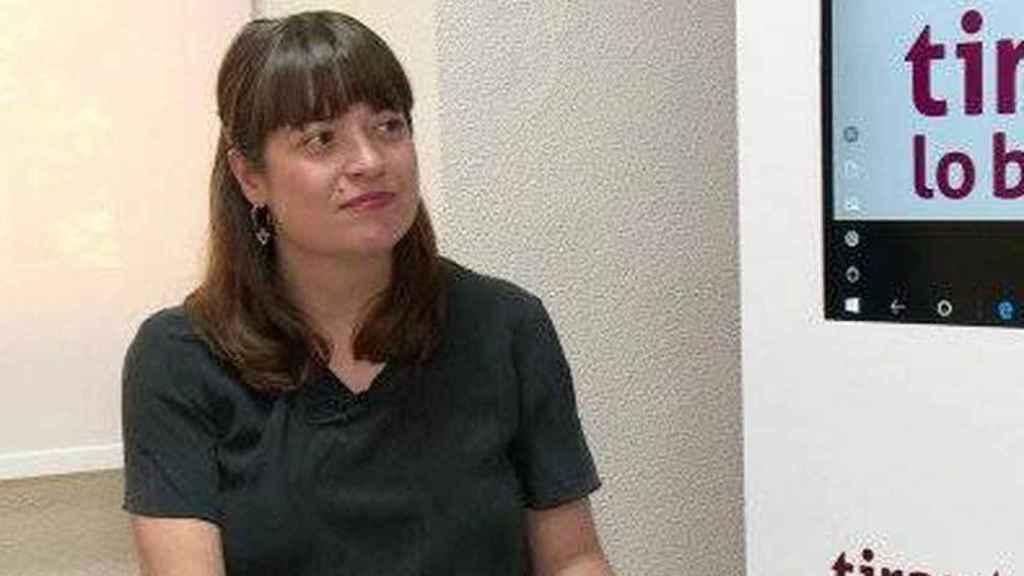 María José Gálvez, directora general de Libro y Fomento de la Lectura.