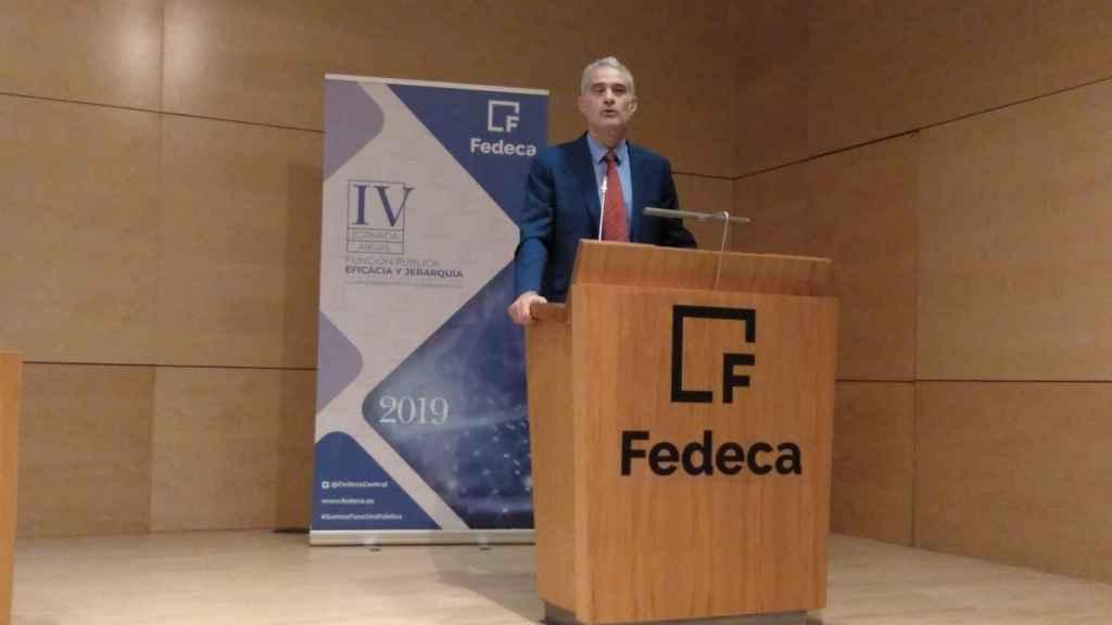 Jordi Solé, presidente de la Fedeca.