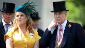 Sarah Ferguson y el príncipe Andrés de York.