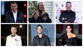 Adele y otros famosos en un montaje de JALEOS.