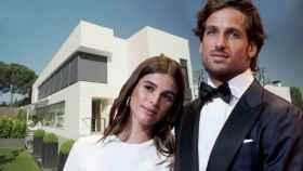 Feliciano López y Sandra Gago están confinados en la gigantesca casa del tenista.