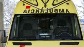 Una ambulancia del SEM catalán