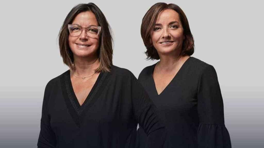 Àngels Barceló y Pepa Bueno, presentadoras de Cadena Ser, en una imagen de archivo.