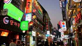 Itaewon es uno de los barrios más concurridos de Seúl