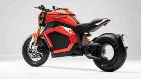 La moto eléctrica Verge TS