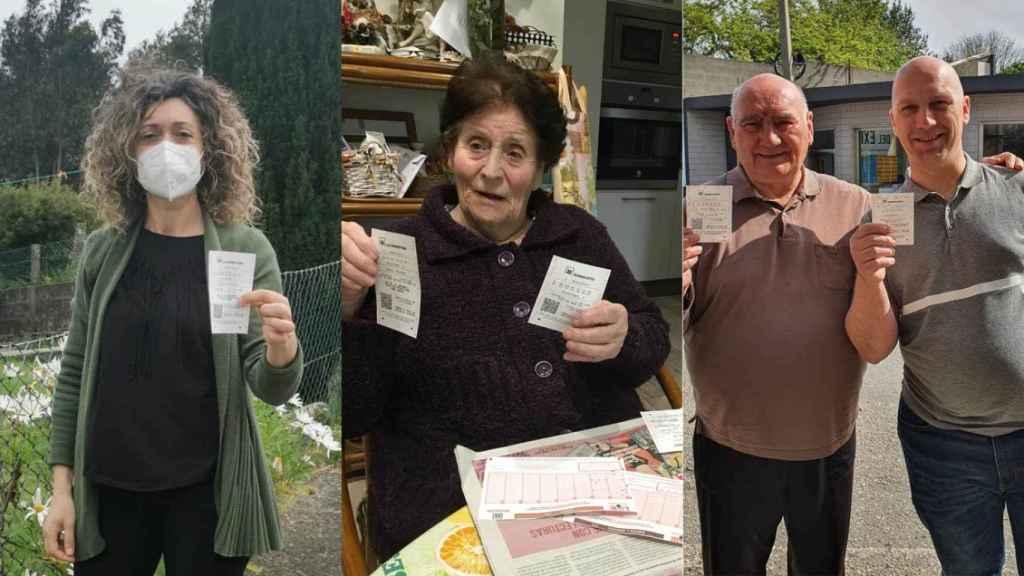 Nuria, Carmen, Bautista y Rafael piden que vuelvan los sorteos de la lotería para recuperar la ilusión.