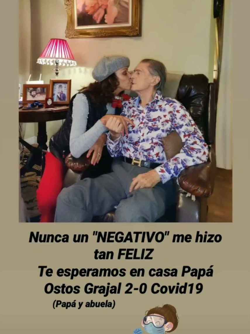 Jacobo Ostos ha informado sobre la salud de su padre.