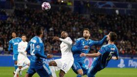 Partido de ida entre Lyon y Juventus
