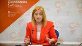 Carmen Picazo, portavoz del Grupo Parlamentario Ciudadanos en las Cortes de Castilla-La Mancha