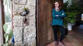 Iris, propietaria de una casa rural en Patones (Madrid)