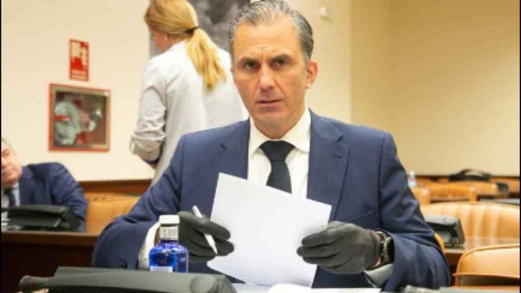El dirigente de Vox Javier Ortega-Smith.
