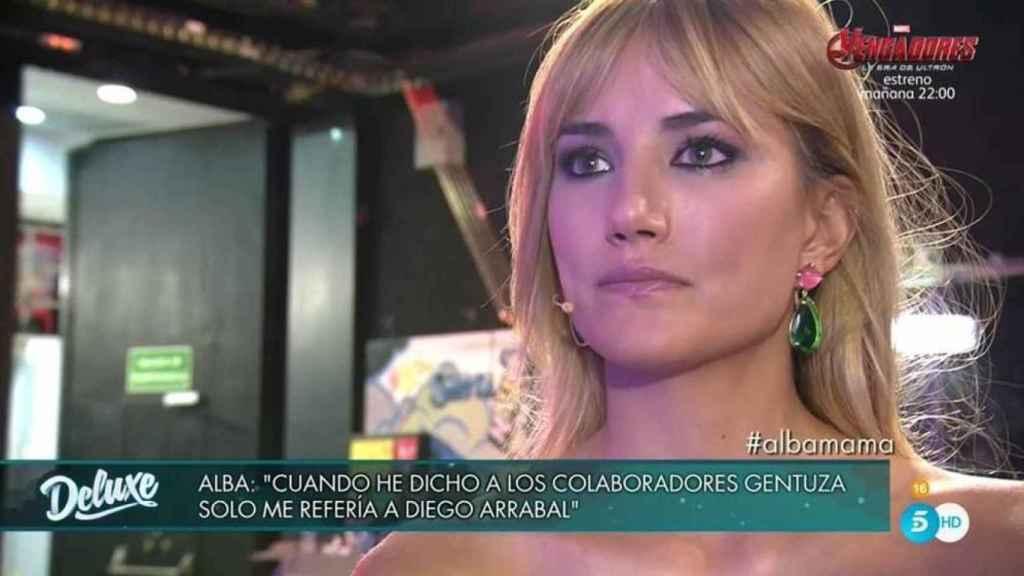 Alba y Diego ya protagonizaron un enfrentamiento en 2017 por el mismo motivo.
