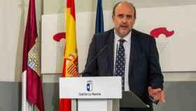 José Luis Martínez Guijarro durante la rueda de prensa