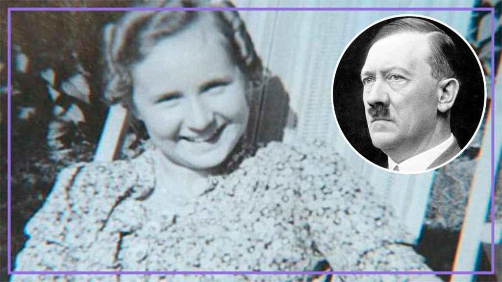 Margot Völk y Hitler.