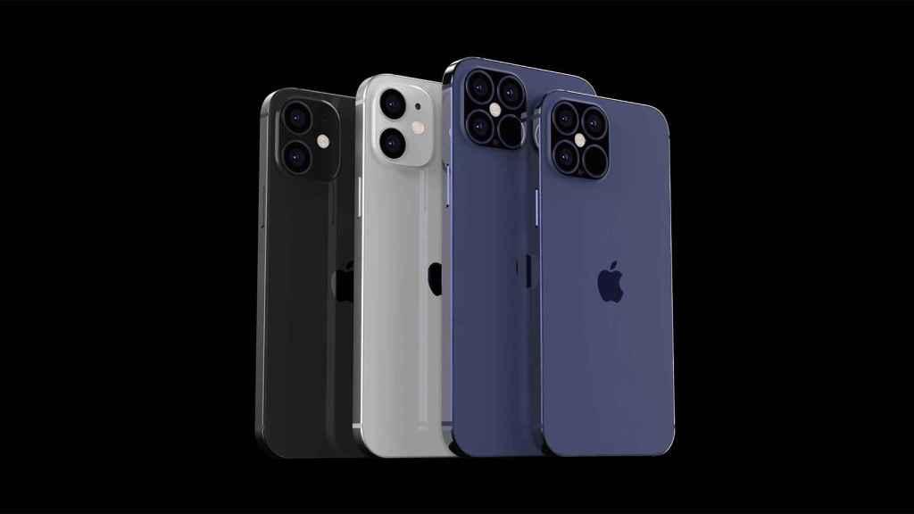 Posible diseño del iPhone 12 en su parte trasera.