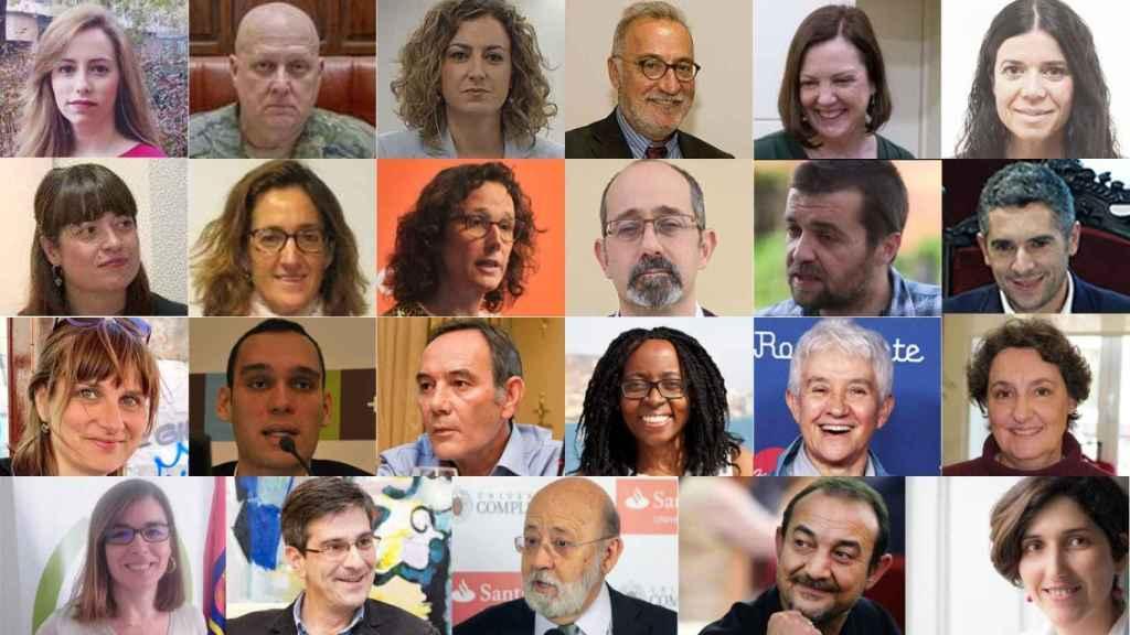 Imágenes de los directores generales nombrados a dedo por el Gobierno de España.