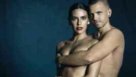 Cristina Pedroche y David Muñoz, en una imagen de sus redes sociales.